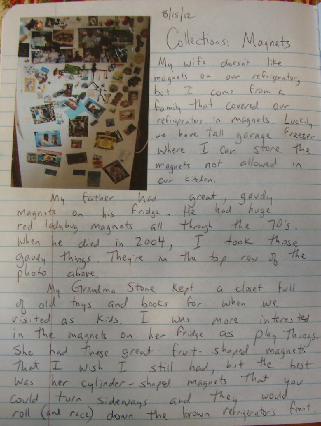 Always write sacred writing time an entry about collecting things i use to introduce my students to their vocabulary collecting expectations for the year altavistaventures Image collections