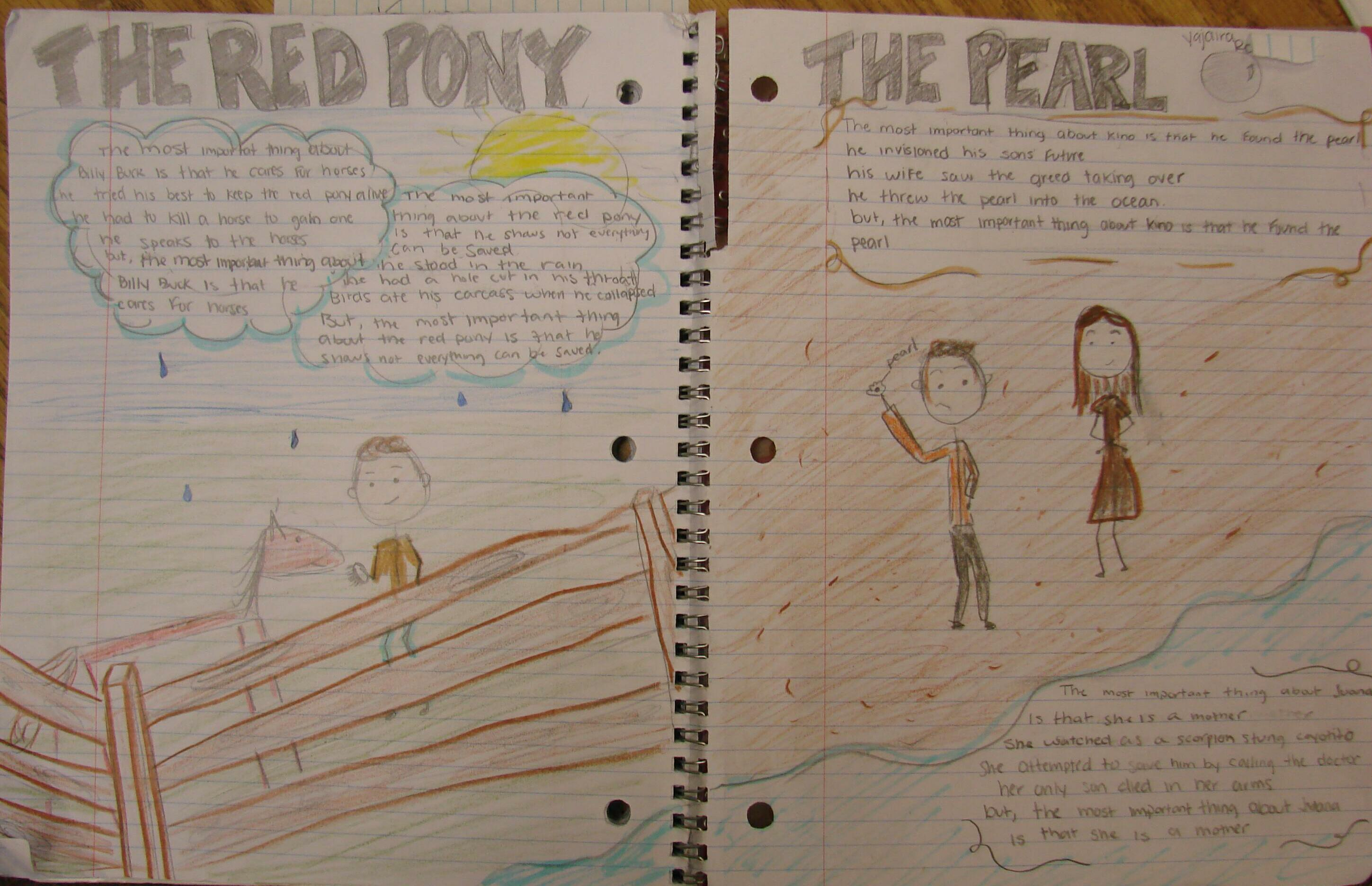 the red pony themes essay The red pony essays the red pony by john steinbeck is a book filled with  archetypes and lessons they can help readers identify hidden truths in books  and.